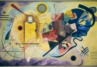 Wassily Kandinsky, Żółty; Czerwony; Niebieski, 1925 r. Pompidou Center National Museum of Modern Art. / CHRISTOPHER CLARK FINE ART / UIG / GETTY IMAGES