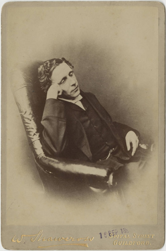 Charles Lutwidge Dodgson (Lewis Carroll), autoportret ok. 1895 r., fot.  Harry Ransom Center, The University of Texas at Austin