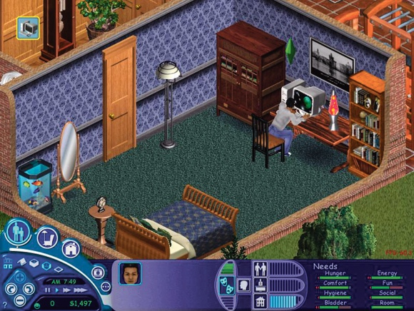 Gra The Sims, Maxis Software, Electronic Arts, 2000 r.